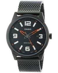 d8084bcc6 G-Shock Mtp-1154pe-7aef Watch in Black for Men - Lyst
