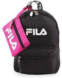 b9592320ca Lyst - Fila Black Line Piazzo Backpack in Black