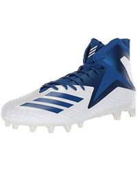 5db7cac7210 adidas - Freak X Carbon Mid Football Shoe White Collegiate Royal