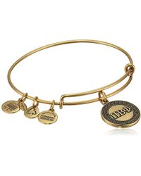 ALEX AND ANI - Sorority Pi Beta Phi Expandable Rafaelian Wire Bangle Bracelet - Lyst