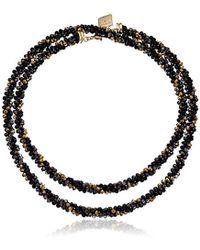 Anne Klein - Silver-tone Strand Necklace - Lyst