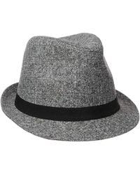 Nautica - Marled Fedora Hat - Lyst