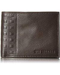Ben Sherman - Holland Park Full Grain Cowhide Leather Passcase Wallet With Rfid Blocking - Lyst