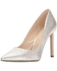 Nine West - Tatiana Metallic Dress Pump - Lyst