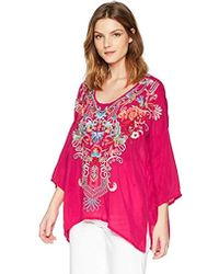 Johnny Was - Valerie Blouse - Lyst
