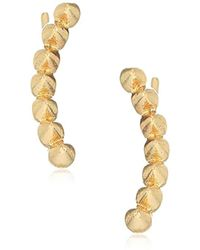 RACHEL Rachel Roy - S Spike Crawler Earrings, Gold, One Size - Lyst