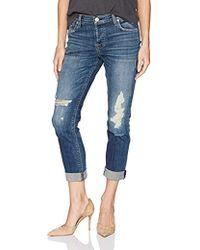 Hudson Jeans - Nico Midrise Ankle Super Skinny W Released Hem - Lyst