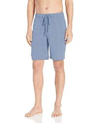 Izod - Rayon Poly Knit Jersey Sleep Short - Lyst