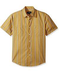 Brixton - Branson Relaxed Fit Short Sleeve Woven Shirt - Lyst