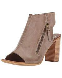 cc9a60648d95 Lyst - Michael Kors Summer Suede Platform Sandal in Natural