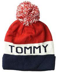 ac4faf4aeee Tommy Hilfiger - Cold Weather Cuffed Beanie - Lyst