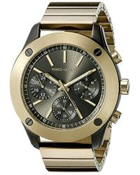 Vince Camuto - Vc/5248gygb Multi-function Dial Gold-tone Bracelet Watch - Lyst