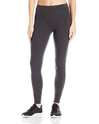 Calvin Klein - Performance Double Waistband 7/8 Legging With Cuff - Lyst