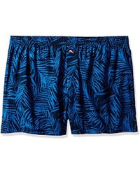 Tommy Bahama - Midnight Leaves Printed Woven Boxer - Lyst