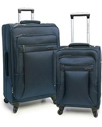 Perry Ellis - Fortune Lightweight Expandable Rolling Spinner Business Travel Luggage Set - Lyst