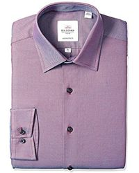 Ben Sherman - Bs Mls Slm Ft Flo Sp Wine/blu Roy Oxf - Lyst