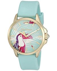 Juicy Couture - 'jetsetter' Quartz Green Casual Watch (model: 1901426) - Lyst