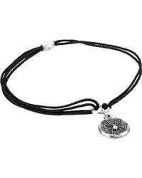 ALEX AND ANI - S Spider Web Pull Cord Bracelet - Lyst