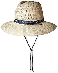 Columbia - Bella Falls Straw Hat - Lyst