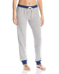 0bc45f74 Tommy Hilfiger - Logo Jogger Sweatpant Lounge Pant Bottom Pajama Pj - Lyst