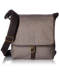 Fossil - Buckner Leather Trim City Bag - Lyst