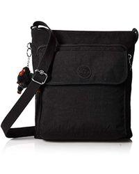 Kipling - Machida Black Tonal Crossbody Bag, T - Lyst 0db9bdd6d0