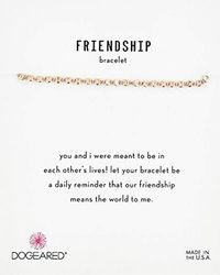 Dogeared - S Friendship Bracelet, Flat Bead On Silk Thread - Lyst