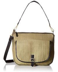 fa300591b8 Vera Bradley - Carson Waxed Canvas Shoulder Bag - Lyst