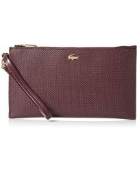 Lacoste - Large Clutch Wallet, Nf2566ce - Lyst