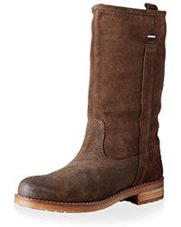 Virna Abx Mid Boot Brown