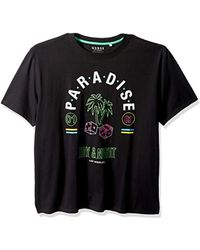 Guess - Paradise Day And Night T Shirt, - Lyst