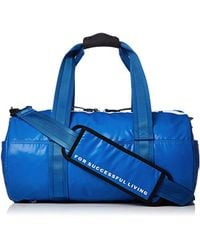 DIESEL - Boldmessage F-bold Duffle-travel Bag, Imperial Blue, One Size - Lyst