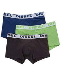 DIESEL - 3-pack Sebestian Stretch Boxer Trunk - Lyst