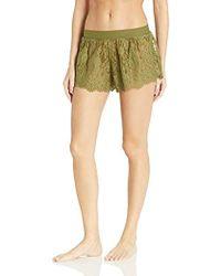 2ef21caf254a PUMA - Fenty Bball Lace Sleepwear Shorts - Lyst