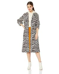 Kendall + Kylie - Long Trench Coat - Lyst