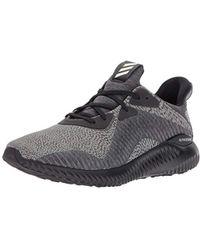 e570b1f8925ec Lyst - adidas Alphabounce Hpc Ams 3.0 Running Shoe in Gray for Men