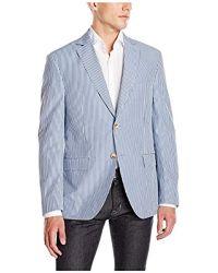 Franklin Tailored - Modern Seersucker Stripe Newton Sport Coat - Lyst