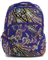 Vera Bradley - Iconic Backpack, Signature Cotton - Lyst