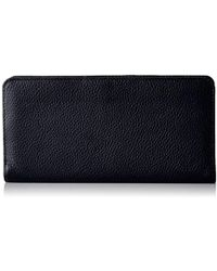 Buxton - Roma Double Sided Wallet, Black Wallet - Lyst