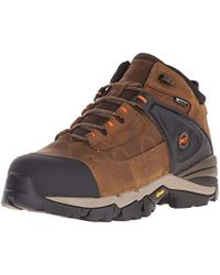 "Timberland - 4"" Hyperion Xl Alloy-toe Waterproof Work Boot - Lyst"