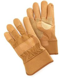 4bb37f2bc05 J.Crew · Carhartt - Grain Leather Work Glove With Safety Cuff - Lyst