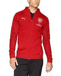 a7cca4cc6174 PUMA - Arsenal Fc Stadium Jacket With Sponsor - Lyst