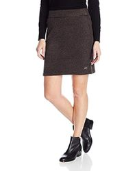 Woolrich - Double Creek Sweater Fleece Skirt - Lyst