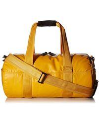 DIESEL - Boldmessage F-bold Duffle-travel Bag, Golden Rod, One Size - Lyst