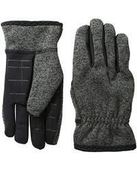 Levi's - Heathered Touchscreen Knit Glove With Stretch Palm - Lyst