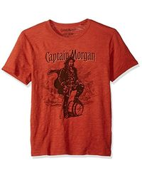 Lucky Brand - Captain Morgan Graphic Tee - Lyst
