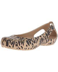 Crocs™ - Kadee Animal Print W Flat - Lyst