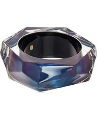 Alexis Bittar - Large Faceted Bangle Bracelet - Lyst