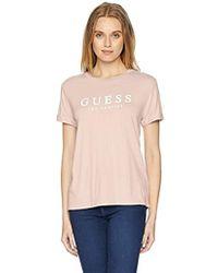 Guess - Short Sleeve Logo T-shirt - Lyst