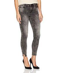 Vero Moda - Seven Uneven Hem Ankle Jeans - Lyst